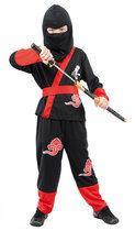 Luxe Ninja Vechter - Kostuum - 7-9 jaar