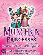Munchkin Princesses booster pack d10