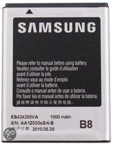 Samsung Accu EB424255VA. Geschikt voor o.a. Samsung S3350 Ch@t 335, S3850 Corby 2, S5220 Star 3