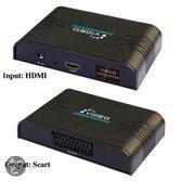 Techtube Pro - HDMI - Scart Omvormer