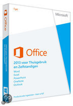 Office Home and Business 2013 32-bit/x64 German 1 License Eurozone Medialess