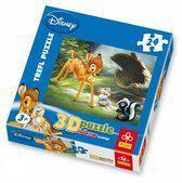 Disney Puzzel - Bambie 3D