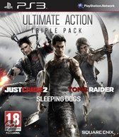 Ultimate Action Triple Pack Just Cause 2  Tomb Raider  Sleeping Dogs