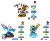 Skylanders Giants Adventure Triple Pack Flashwing, Gill Grunt, Double Trouble Wii + PS3 + Xbox360 + 3DS + Wii U + PS4