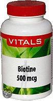 Nutrina Vitamine B8 Biotine 500mcg 50 st