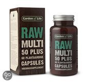Garden Of Life Raw Multi 50+ - 60 Capsules