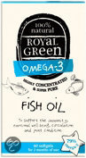 Royal Green Omega-3 Fish Oil Capsules 30 st