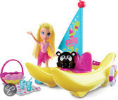 Polly Pocket Bananenboot