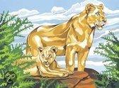 Schilderen op nummer Senior Lioners Club