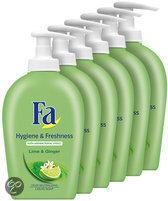 Fa Liquid Soap Hygiene&Fresh - 6 st - voordeelverpakking