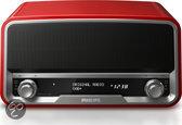 Philips ORT7500 - Radio met DAB - rood