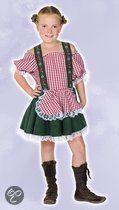 Oktoberfest Tiroler jurkje voor kinderen 164