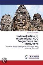 Nationalisation of International Ngo Programmes and Institutions
