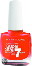 Maybelline Super Stay 7days - 470 Orange - Nagellak