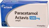 Actavis Paracetamol 500 mg - 10 Zetpillen - Pijnstillers