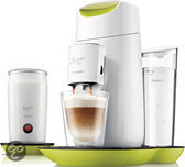 Philips Koffiepadapparaat HD7874/10 - Senseo Twist & Milk Citroengeel met wit