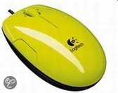 Logitech Ls1 Laser Mouse - Acid-Yellow