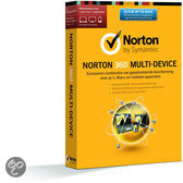 Symantec Norton 360 Multi Device 2.0 + Norton Antitheft 1.0 - Nederlands / 1 Licentie / 3 apparaten / 1 Jaar - Productcode zonder DVD