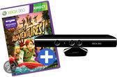 Foto van Xbox 360 Kinect sensor + Kinect Adventures