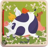 Janod Happy Farm Houten Boekje