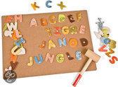 Spijkerspel Jungle ABC 112 stuks