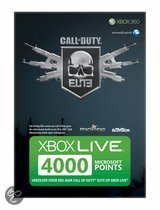 Microsoft Call of Duty Elite 4200 Microsoft Punten Xbox 360