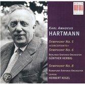Hartmann, Sinfonien 5,6 Und 8