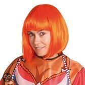 Pruik Bob Line - Oranje
