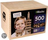 Bblocks in Houten Kist - 500 stuks