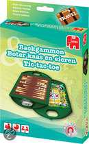Backgammon, Boter, Kaas en Eieren, Tic Tac toe - Reiseditie