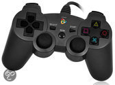Playfect Controller Vibratie Zwart PS3 + PC