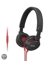 Sony MDR-ZX610APR - On-ear koptelefoon - Rood