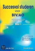 Succesvol studeren voor BIV/AO 1