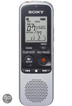 Sony ICD-BX112 - Digitale Voice recorder - Zilver