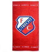 FC Utrecht Badlaken - 70 x 140 cm - Rood