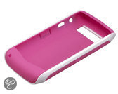 BlackBerry Premium Skin voor de BlackBerry 9105 - Wit/Roze