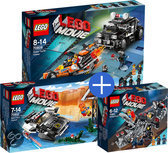 LEGO The Movie Voordeelbundel: Supermotor Achtervolging 70808 + Achtervolging 70802 + Smeltkamer 70801