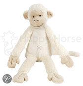 Happy Horse - Aap Mickey No.1 Ivoor wit - Knuffel