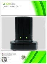 Foto van Microsoft Oplaadkit Zwart Xbox 360