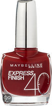 Maybelline Express Finish - 530 Red Seduction - Rood - Nagellak
