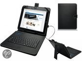 Easypix Easypad 971 Dual Core Keyboard Case, Hoes met ingebouwd QWERTY toetsenbord, Zwart, merk i12Cover
