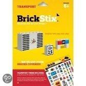 Brickstix Stix: transport 84 stickers