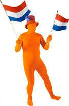 Skinsuit Allover - Kostuum - One size - Oranje