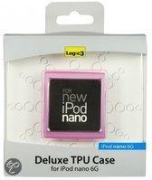 Logic3 Deluxe TPU Case voor iPod Nano - Roze