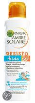 Garnier Ambre Solaire Resisto Kids SPF 50+ - Zonnebrandspray