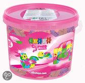 Clics Glitter Bouwblokjes in Emmer