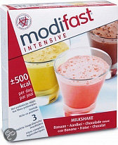 Modifast Banaan/Aardbei/Chocolade - 3 x 47 gr - Milkshake
