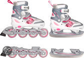 Inline Skate Combo Roze Maat 34-37