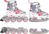 Inline Skates Combo Roze Maat 34-37