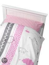 Coming Kids Bedtime - Overtrek & Sloop 70x140/150 cm - Roze